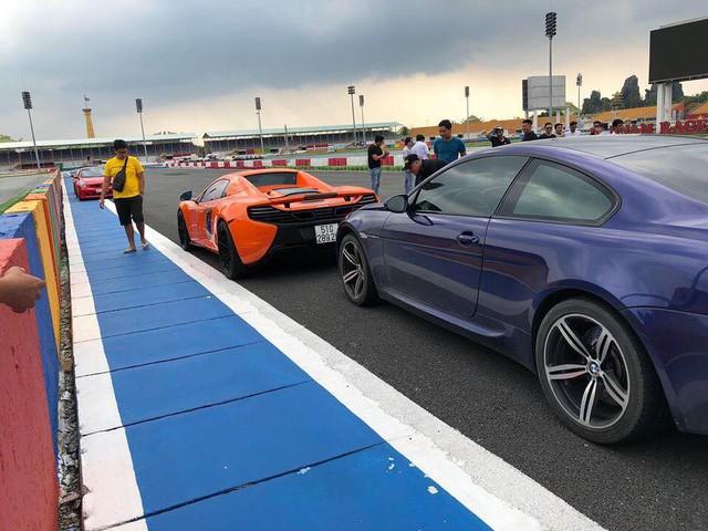 Dàn siêu xe sặc sỡ thử tốc độ ở trường đua Đại Nam - Ảnh 14.