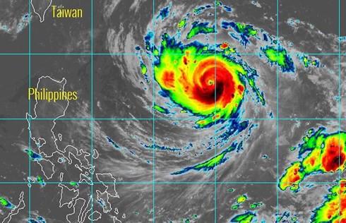 Lại xuất hiện siêu bão Trami gần Biển Đông - Ảnh 1.