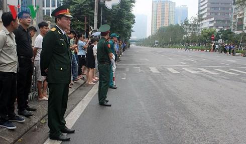 Trực tiếp: Đưa linh cữu Chủ tịch nước Trần Đại Quang về quê nhà - Ảnh 13.