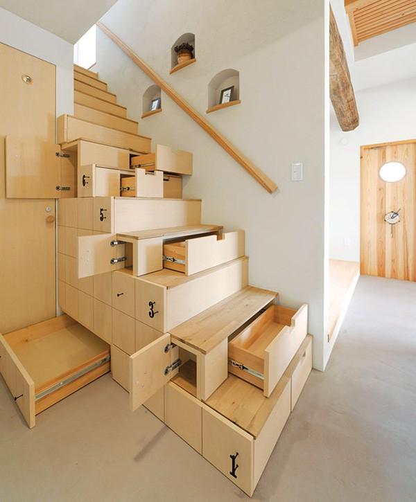 Tròn mắt với những mẫu cầu thang gỗ cực kỳ sáng tạo và độc đáo - Ảnh 3.