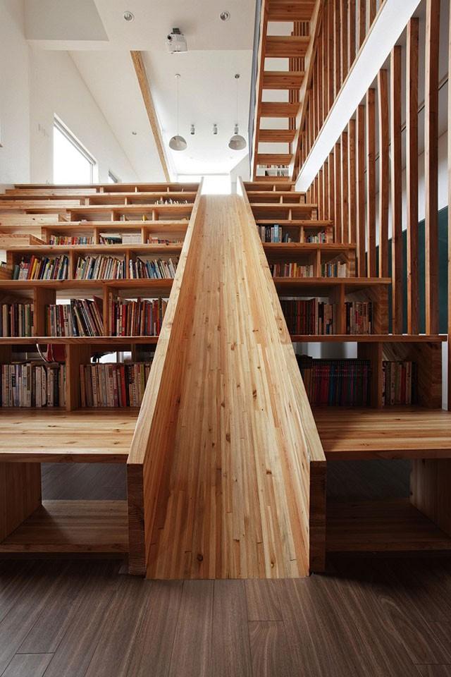 Tròn mắt với những mẫu cầu thang gỗ cực kỳ sáng tạo và độc đáo - Ảnh 4.