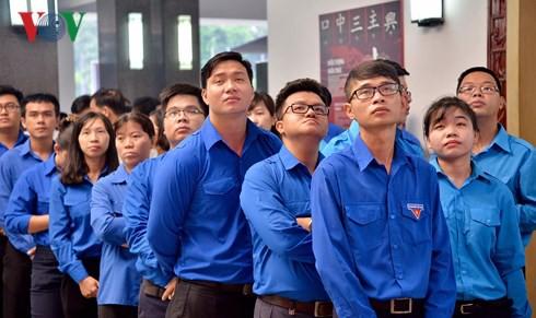 Trực tiếp: Đưa linh cữu Chủ tịch nước Trần Đại Quang về quê nhà - Ảnh 51.