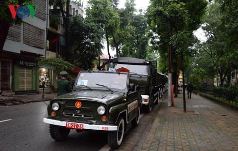 Trực tiếp: Đưa linh cữu Chủ tịch nước Trần Đại Quang về quê nhà - Ảnh 53.