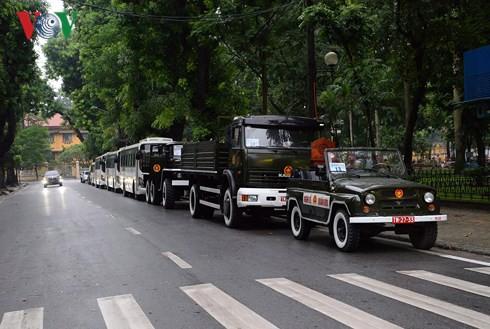 Trực tiếp: Đưa linh cữu Chủ tịch nước Trần Đại Quang về quê nhà - Ảnh 54.