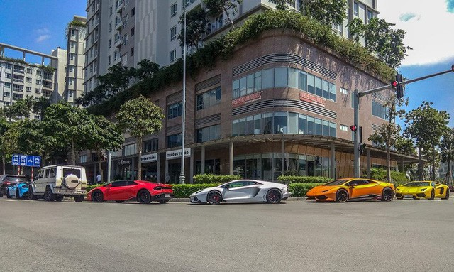 Cường Đô La cùng loạt đại gia Việt khoe dàn siêu xe trăm tỷ dịp cuối tuần - Ảnh 1.