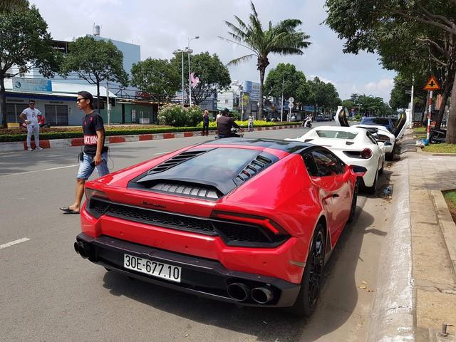 Cường Đô La cùng loạt đại gia Việt khoe dàn siêu xe trăm tỷ dịp cuối tuần - Ảnh 16.