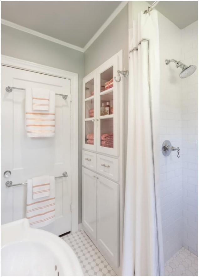 Phòng tắm chật hẹp sẽ rộng không ngờ nhờ một số mẹo dễ làm này - Ảnh 4.