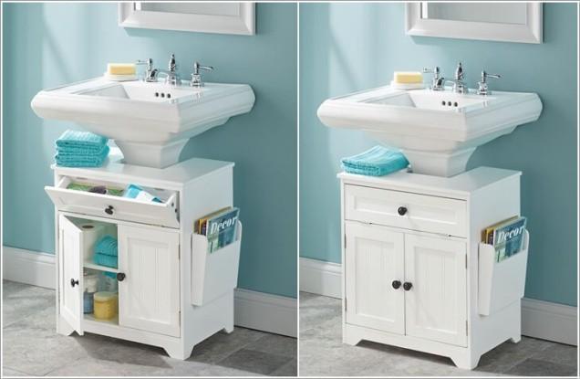 Phòng tắm chật hẹp sẽ rộng không ngờ nhờ một số mẹo dễ làm này - Ảnh 5.