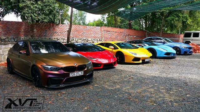 Cường Đô La cùng loạt đại gia Việt khoe dàn siêu xe trăm tỷ dịp cuối tuần - Ảnh 5.