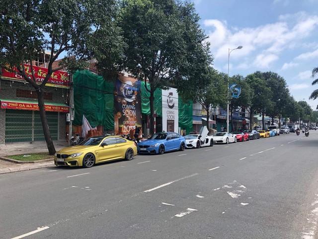 Cường Đô La cùng loạt đại gia Việt khoe dàn siêu xe trăm tỷ dịp cuối tuần - Ảnh 6.