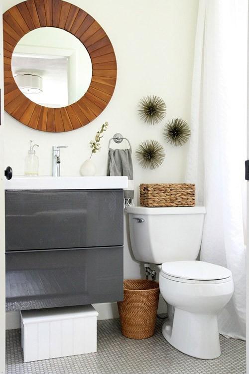Phòng tắm chật hẹp sẽ rộng không ngờ nhờ một số mẹo dễ làm này - Ảnh 8.
