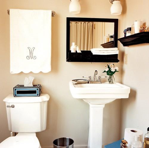 Phòng tắm chật hẹp sẽ rộng không ngờ nhờ một số mẹo dễ làm này - Ảnh 9.