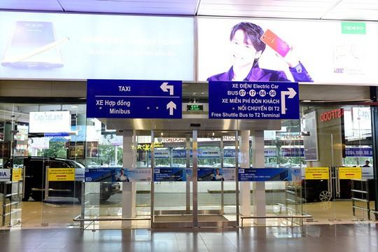 Cận cảnh bề ngoài mới Nhà ga T1 Nội Bài sau 1 năm nâng cấp - Ảnh 3.