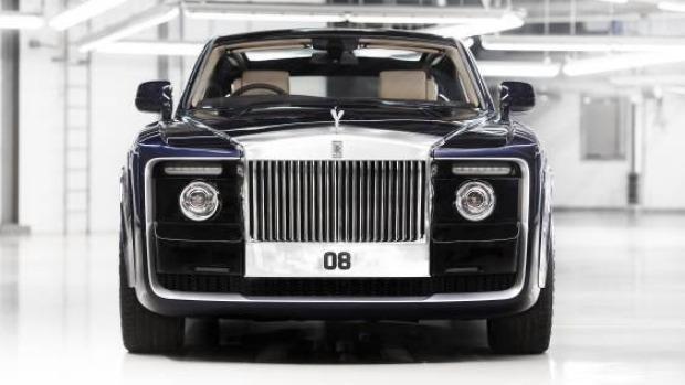"""Rolls-Royce Sweptail – Hình mẫu """"Haute Couture"""" trong làng xe hơi - Ảnh 1."""
