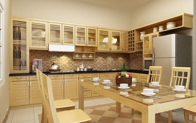 Những tủ bếp đơn giản nhưng khiến không gian bếp đẹp và sang đến không ngờ - Ảnh 3.