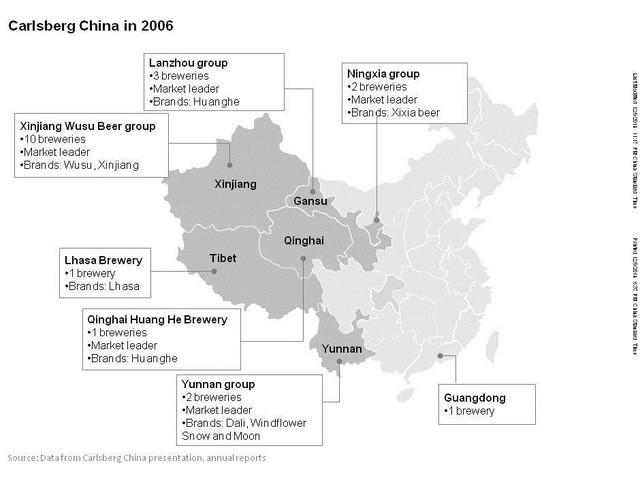 """Chiến thuật """"Tây Du Ký"""" của Carlsberg: Rời bỏ Thượng Hải và Bắc Kinh, đi bán bia nơi địa hình xấu nhất cho những người nghèo nhất, trở thành bá chủ thị trường Tây Trung Quốc - Ảnh 4."""