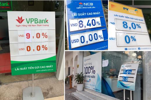 Lãi suất cao nhất ở ngân hàng đã lên đến 9%/năm - Ảnh 1.