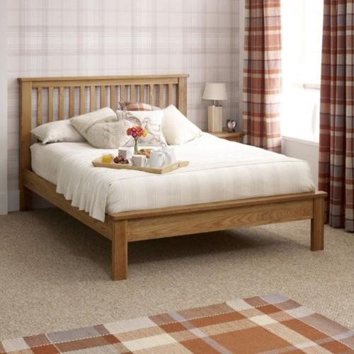 Giường ngủ đơn giản tiết kiệm diện tích - Ảnh 3.