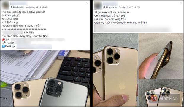 iPhone 11 hàng Lock rầm rộ đổ bộ Việt Nam, rẻ hơn tận 10-15 triệu so với máy gốc - Ảnh 1.