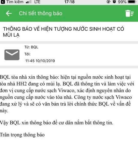 Dân nhiều quận ở Hà Nội lo lắng khi nước sinh hoạt bất ngờ có mùi lạ - Ảnh 2.