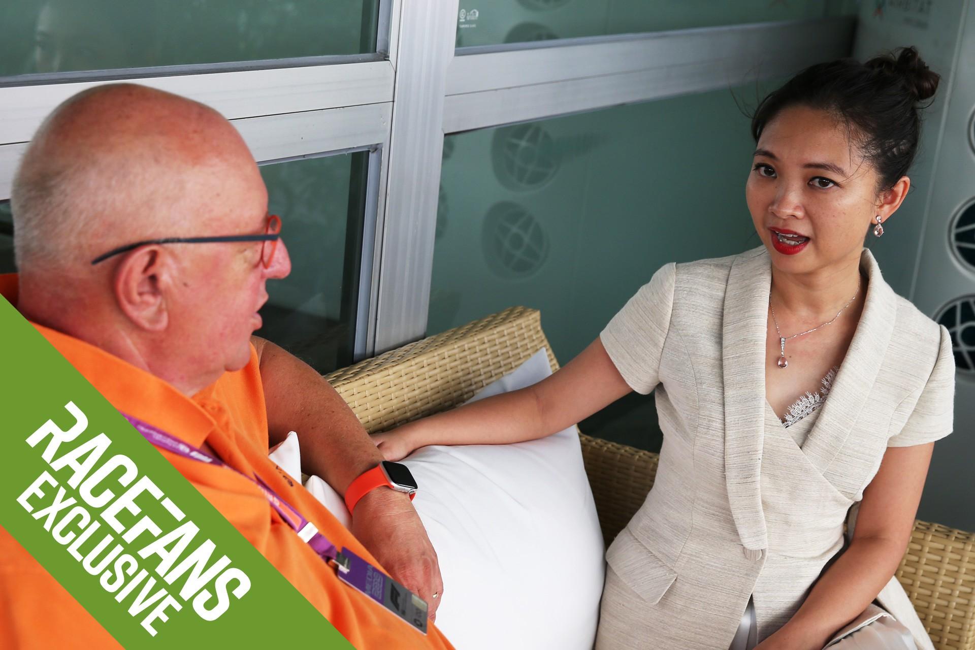 Lê Ngọc Chi, CEO của Công ty TNHH Việt Nam Grand Prix