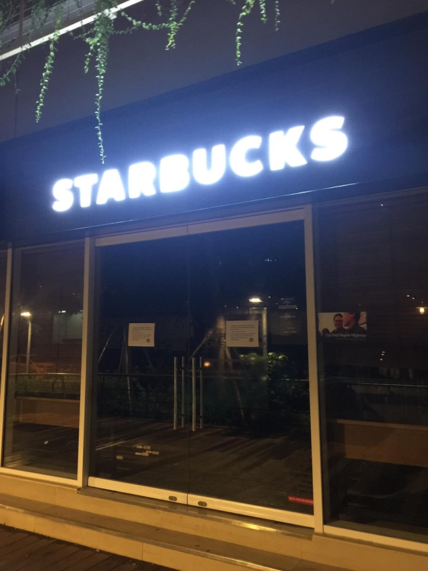 Nóng: Ô nhiễm nguồn nước, một cửa hàng Starbucks ở Hà Nội phải tạm đóng cửa, chưa hẹn ngày quay trở lại - Ảnh 3.