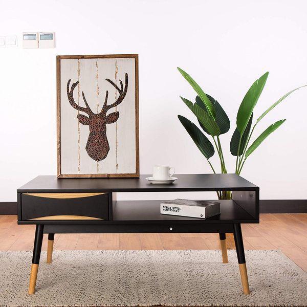 Mẫu bàn phòng khách đẹp và tiện dụng - Ảnh 2.