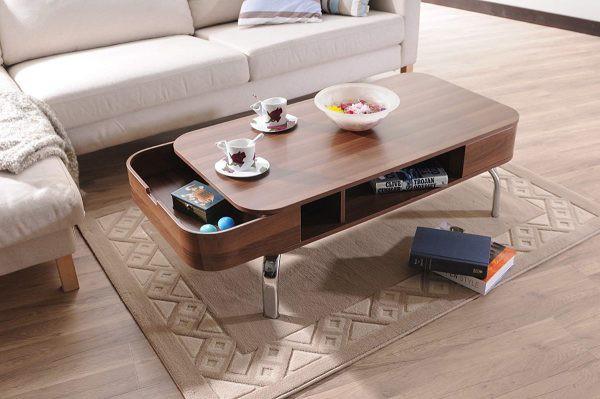 Mẫu bàn phòng khách đẹp và tiện dụng - Ảnh 8.