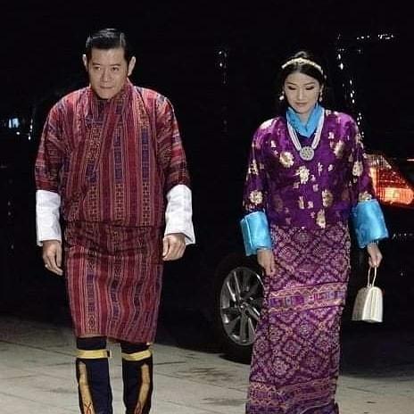 Cộng đồng mạng phát sốt với vẻ đẹp thoát tục không góc chết của Hoàng hậu Bhutan ở Nhật Bản khi tham dự lễ đăng quang  - Ảnh 7.