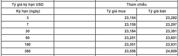 Tỷ giá USD/VND tiếp tục ổn định - Ảnh 1.