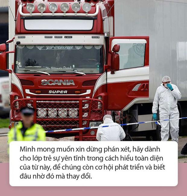"""Mẹ Nhật Nam: Từ vụ 39 người tử vong trên xe container, Có ai trong chúng ta coi con cái là phương tiện để đạt được ước mơ của đời mình?"""" - Ảnh 2."""
