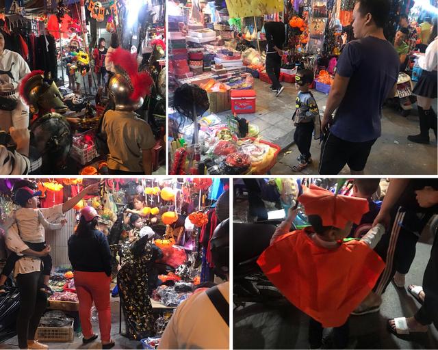 Sôi động thị trường đồ chơi Halloween, phù thủy, siêu nhân nhí xuất hiện - Ảnh 4.