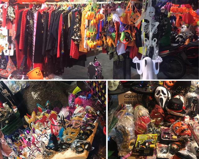 Sôi động thị trường đồ chơi Halloween, phù thủy, siêu nhân nhí xuất hiện - Ảnh 3.