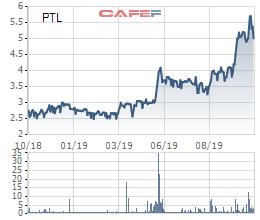 Một cá nhân vừa mua gần 20 triệu cổ phiếu PTL, trở thành cổ đông lớn của Petroland - Ảnh 1.
