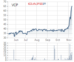 Cổ phiếu Vinaconex Power đột ngột tăng 70% từ cuối tháng 10 - Ảnh 1.