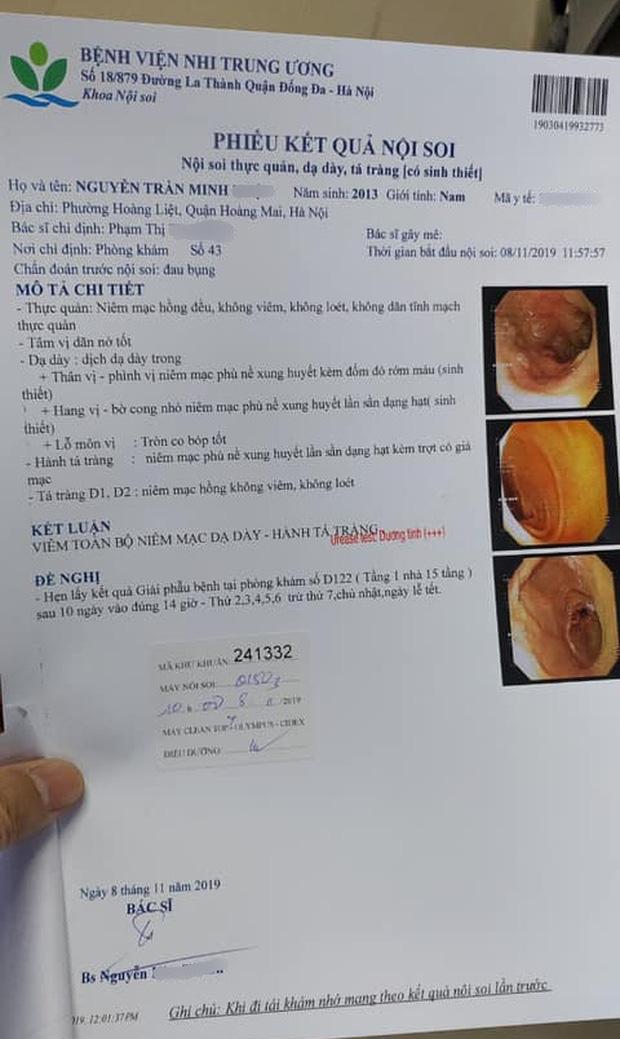 Bé trai 6 tuổi bị xung huyết dạ dày do bà bón cơm từ nhỏ: Bác sĩ điều trị lên tiếng cảnh báo vi khuẩn HP rất nguy hiểm - Ảnh 1.