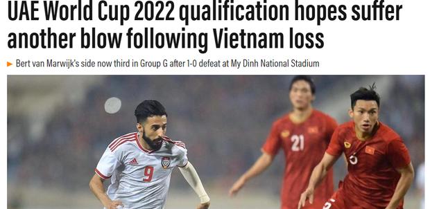 Truyền thông UAE buộc phải thừa nhận sức mạnh của tuyển Việt Nam, cho rằng đội nhà toang chỉ vì 7 phút thảm họa - Ảnh 1.