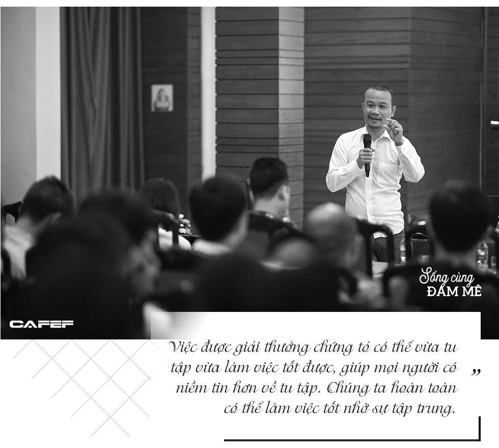 """KTS Võ Trọng Nghĩa: """"Nhiều người nghĩ thất bại mới đi tu tập nhưng đâu phải, giữ giới và hành thiền là việc quan trọng nhất trên đời"""" - Ảnh 5."""
