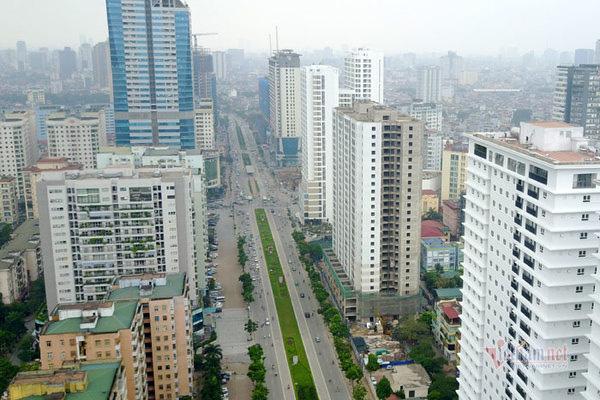 Thanh tra quy hoạch đường ngột thở ở Hà Nội hơn 2km 'nhồi' 40 cao ốc - Ảnh 2.