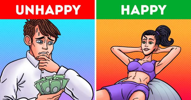 Không chỉ tốt cho sức khoẻ, tập thể dục thường xuyên đôi khi mang lại hạnh phúc cho bạn hơn cả việc có thu nhập cao ngất ngưởng - Ảnh 1.
