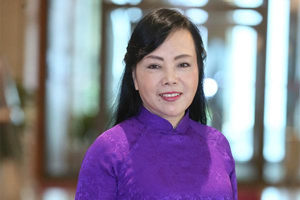 Phút xúc động của Bộ trưởng Nguyễn Thị Kim Tiến - Ảnh 1.