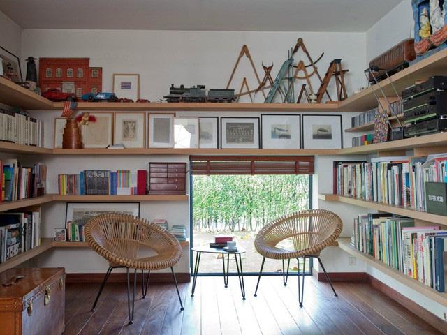Không gian sống với nội thất mây tre đan đẹp hút hồn - Ảnh 2.
