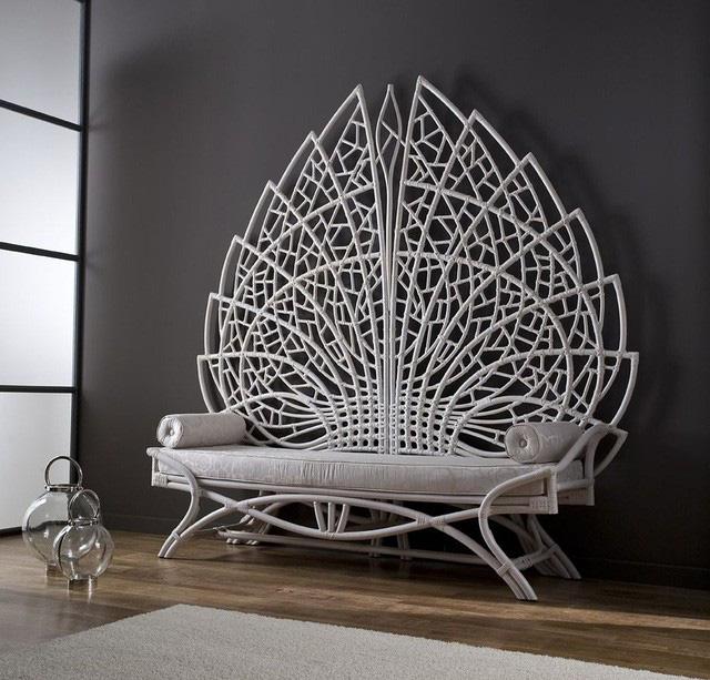 Không gian sống với nội thất mây tre đan đẹp hút hồn - Ảnh 5.