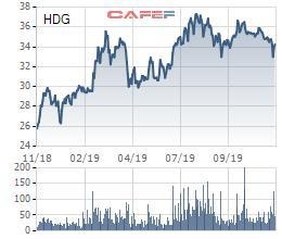 Tập đoàn Hà Đô (HDG) chuẩn bị trả cổ tức bằng tiền tỷ lệ 10% - Ảnh 1.