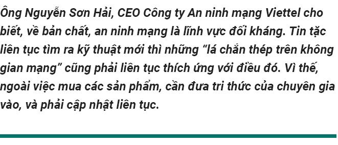 CEO An ninh mạng Viettel: Giải pháp an ninh mạng cũng như trang bị vũ khí, không ai muốn bị phụ thuộc vào nước ngoài - Ảnh 1.