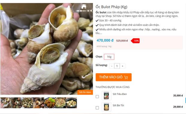 Ốc Bulot Pháp: Từng chả ai ăn, dùng làm mồi cho cá đến chỗ trở thành thực phẩm đắt cả nửa triệu bạc vẫn hết hàng - Ảnh 4.