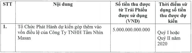 Masan Group muốn huy động 10.000 tỷ trái phiếu để bổ sung vốn cho các công ty con - Ảnh 3.