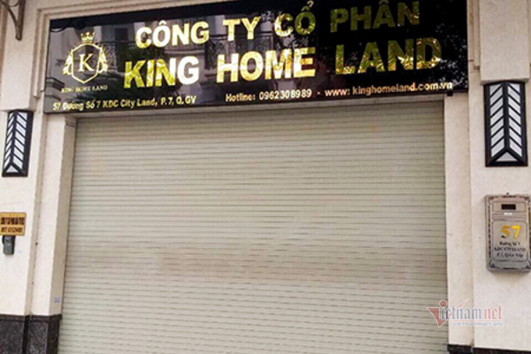 """Khách hàng căng băng rôn """"tố"""" Công ty King Home Land vẽ dự án """"ma"""" lừa đảo - Ảnh 3."""