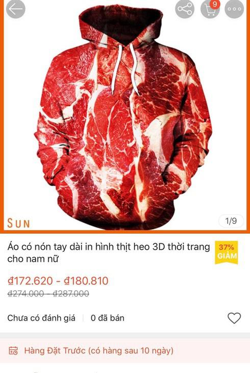 Sốt thời trang thịt lợn bán đầy rẫy trên mạng - Ảnh 2.