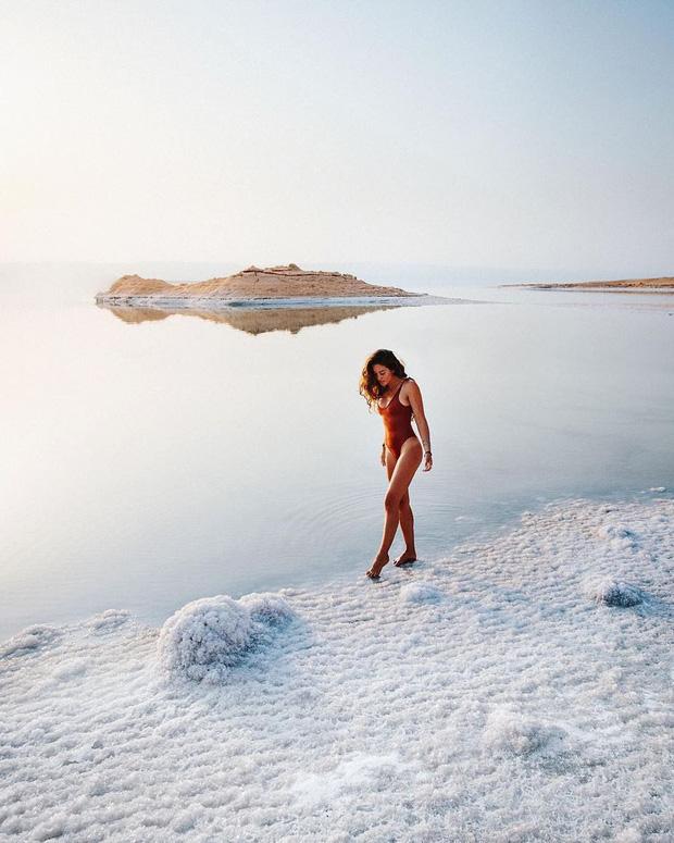 Hoá ra Biển Chết thực chất… không phải là biển, lại còn hút khách du lịch tìm đến check-in vì lý do độc nhất vô nhị này! - Ảnh 6.